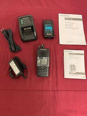 New Kenwood Nx-5200k2 Digital Analog Vhf 136-174mhz P25 Nxdn Handheld Radio