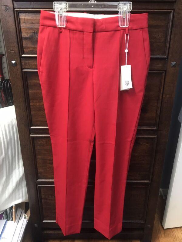 Tory Sport By Tory Burch Tech Twill Golf Pants Carnation Size 2