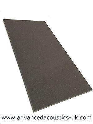"Advanced Acoustics 1"" Acousti-Slab Studio Foam Panel Acoustic Treatment Grey"