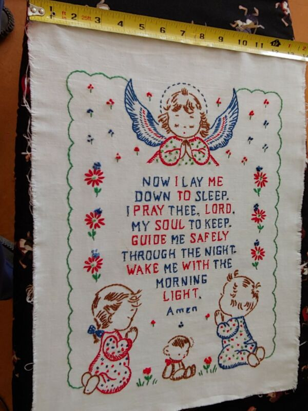 Embroidery Wall Hanging Children
