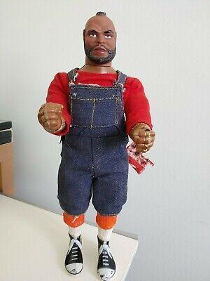 "Vintage Galoob A-Team_Mr. T_B.A_Baracus 12"" Action Figure_Doll 1983"