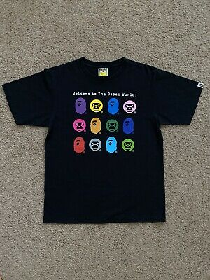 BAPE Mens T-Shirt - A BATHING APE - Size Medium - Rare
