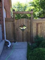 Fence and Deck Installation and repair!