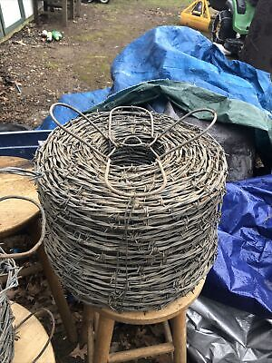 Barbed Wire Full Roll W Bonus Partial Roll