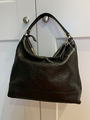Authentic Brown Gucci Leather Bag