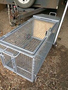 Heavy duty metal chicken rabbit duck cage Pakenham Upper Cardinia Area Preview