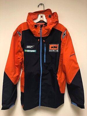 Windbreaker Motorcycle - KTM Racing Motorcycle MX SX Hardshell Jacket Windbreaker Coat L XL NEW AUTHENTIC