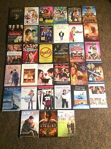 DVD movies $3 each or 4 for $10