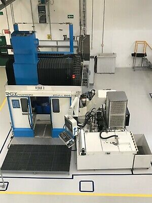 2013 Rivax 800 5 Axis Vertical Horizontal Machining Trundle Tablemakino