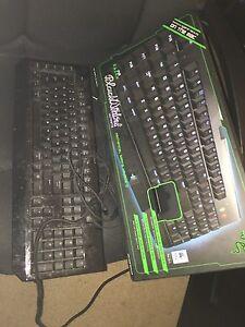 Razer black widow mechanical gaming keyboard
