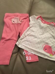 9-12 months baby girl dresses, outfits and rompers