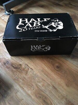 VANS x METALLICA - Half Cab Pro Shoes (NEW) Mens Size 12 BLACK ~ Kill Em All ~