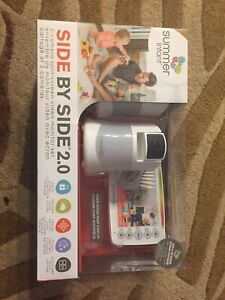 Brand new summer infant side by side 2.0 dual camera system