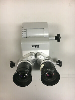 Zeiss Surgical Microscope Head Inclinable 12.5x