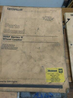 Caterpillar Parts Manual 966f Series Ii Wheel Loader