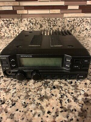 Kenwood Tk-790 Uhf Alh22923110 148-174 Mhz Radio With Remote Head
