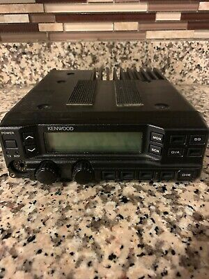 Kenwood Tk-790 Vhf Alh22923310 148-174 Mhz Radio With Remote Head
