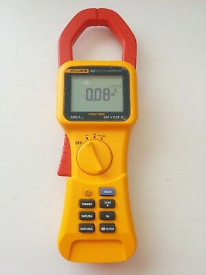 Fluke 353 True Rms 2000a Ac Dc Current Amp Clamp Meter Trms 600v 2000a Cat Iv