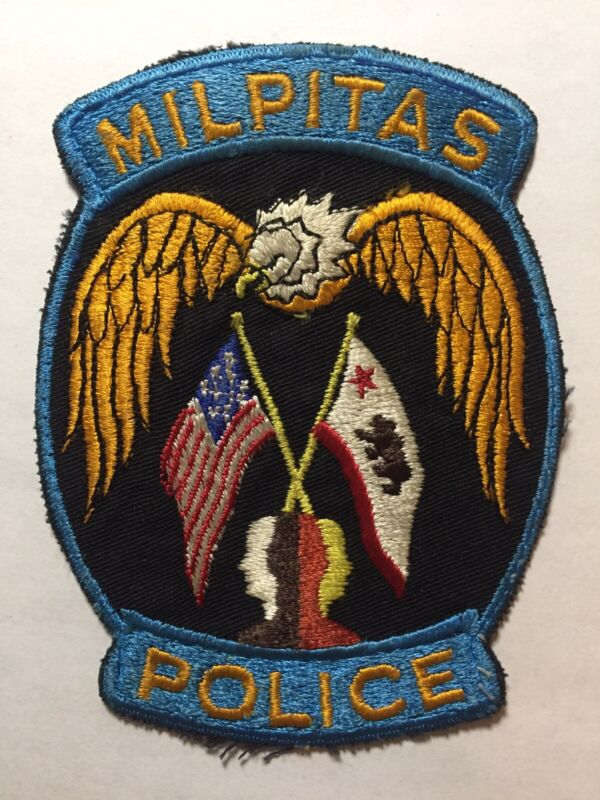 Milpitas California Vulture Police Patch