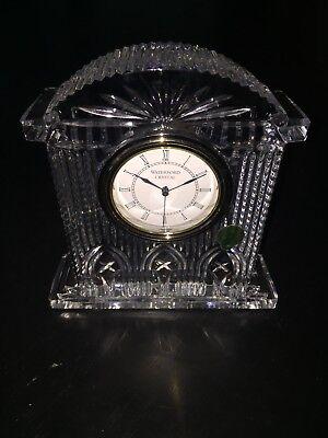 Vintage Waterford Crystal Westminster Ireland Mantle Clock
