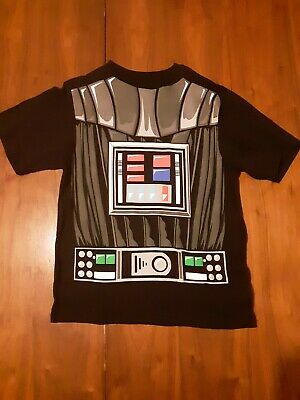 Boys Star Wars Darth Vader Costume T-Shirt with Cape Xl - Star Wars Darth Vader Kostüm T Shirt