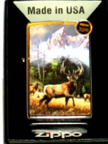 New ZIPPO USA Windproof Lighter 15386 Blaylock Call to Challenge Elk Deer St Ch