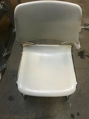 Lot Of 3 Used Corcraft Stacking Chairs - 150 Available