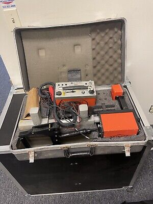 Metrotech Vivax 850 Locator W Hard Case Transmitter Back From Service