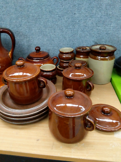 Collection of ceramic stone wares