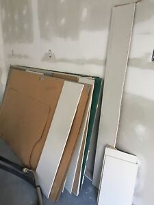 Drywall, chip board and chalkboards