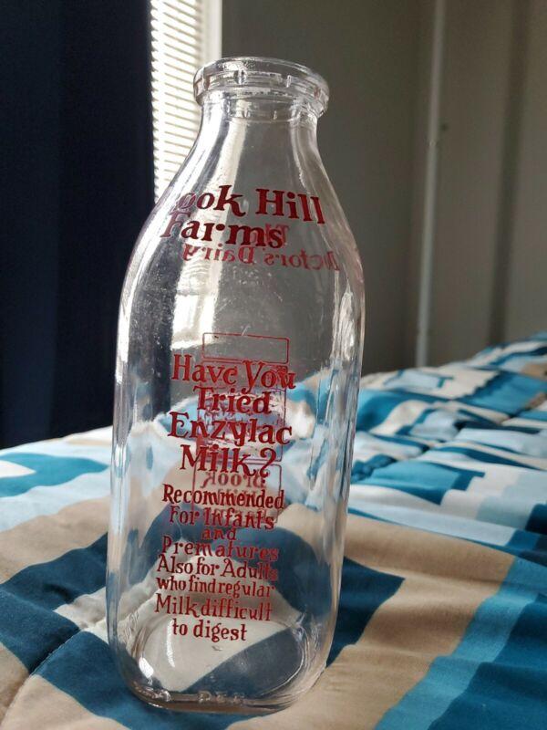 Brook Hills Farm Vintage Milk Bottle