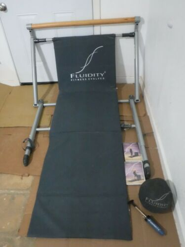 Fluidity Fitness Evolved Barre System Exercise Bar Dance Ballet Yoga.