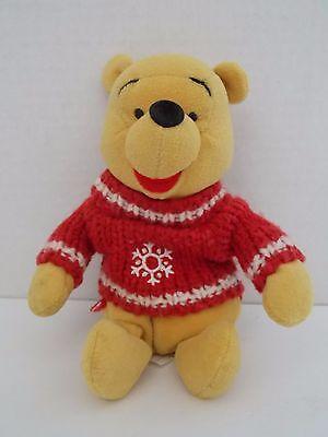 Disney ~ Snowflake Sweater Pooh Plush