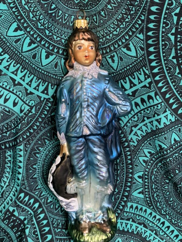 Radko BLUE BOY Huntington Library #3704 Ornaments