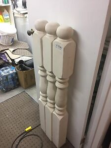 "New newel post indoor outdoor 4""x48"""