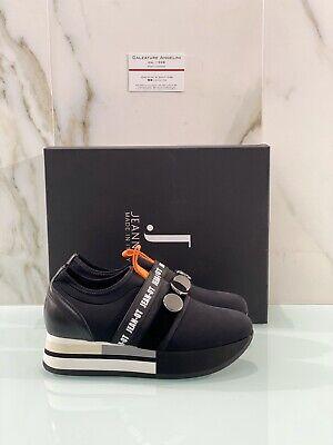 Jeannot Sneaker Woman Pesub Black Wedges Fashion Sneaker Jeannot 39