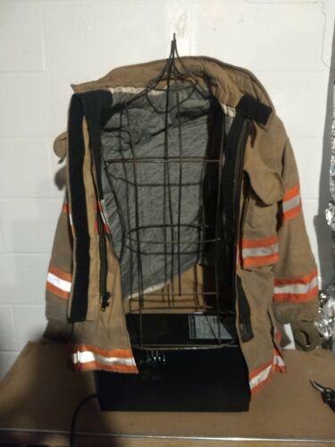 3832R Lion Janesville 2000 isodri firefighter turnout bunker jacket coat w/liner