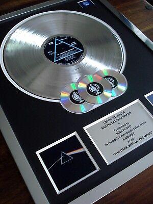 PINK FLOYD THE DARK SIDE OF THE MOON LP MULTI PLATINUM DISC RECORD AWARD ALBUM