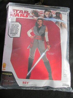Star Wars Adult REY Costume Women's Size M 10-14 New Disney Complete, Halloween