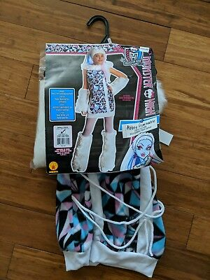 ter High Abbey Bominable Child Halloween Costume Small 4-6 (Monster High Halloween 1)