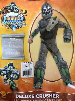 Skylanders Halloween Costume (Kids Halloween Costume for Boys Skylanders Deluxe Crusher Jumpsuit)