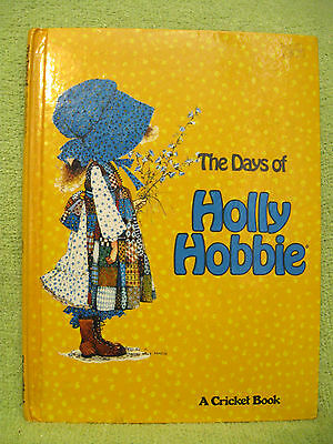 DAYS OF HOLLY HOBBIE Book VINTAGE 1977 American Greetings BONNET GIRL Pictures