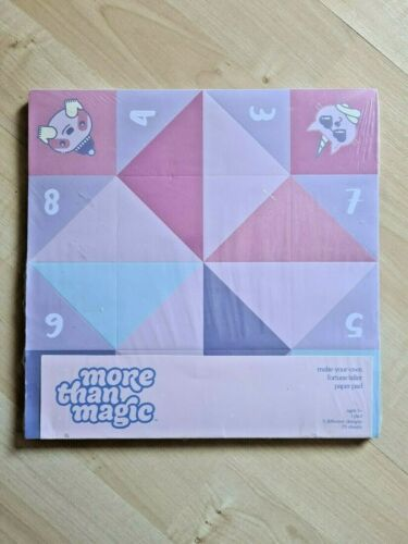 Kids Fun Crafts More Than Magic Make Your Own Fortune Teller Paper Pad 75 Sheets