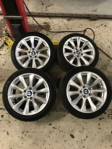 Summer tires 225/45 R18 RUNFLAT on OEM BMW mags