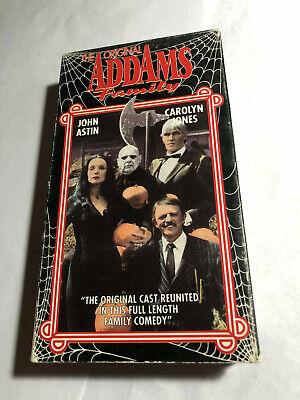 Original Addams Family Halloween (THE ORIGINAL ADDAMS FAMILY, JOHN ASTIN, CAROLYN JONES, VHS,)