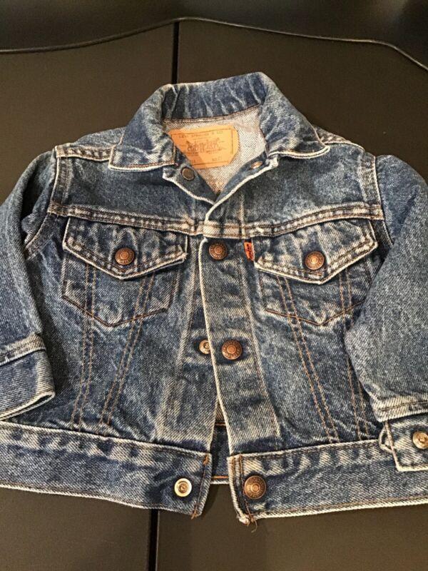 Vintage levis orange tab jacket Size 2T EUC