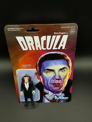 Dracula Bela Lugosi Reaction Super 7 Action Figure