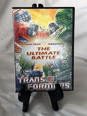 Transformers: The Ultimate Battle -- Optimus Prime vs Megatron (DVD) Animated R3 (Transformers The Ultimate Battle)