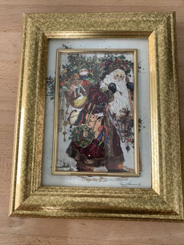 """Peggy Abrams Toys In Tow 5""""x 7"""" Holiday Matted Frame"""