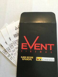 EVENT MOVIES CINEMAS ADULT TICKETS GOLD COAST- SEE STAR WARS 14.12.17